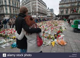 brussels belgium 02nd apr 2016 an overview of the memorial at