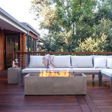 Linear Fire Pit by Yliving On Twitter