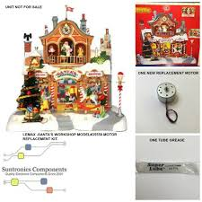 Sm4 Lemax Animated Santa U0027s Workshop Model 35558 Replacement