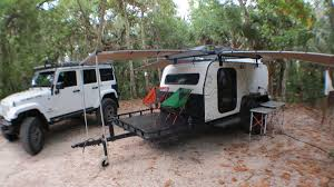 jeep trailer for sale 15 panther trailers overland expedition series teardrop demo