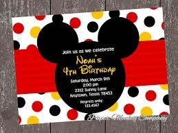 template printable mickey mouse birthday invitation background