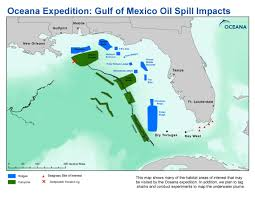University Of Miami Map Gulf Of Mexico Places Oceana Usa