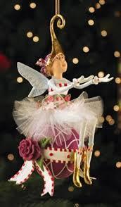 patience brewster krinkles sugar plum ornament