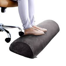 foot elevation under desk amazon com office foot rest therapeutic grade memory foam cushion