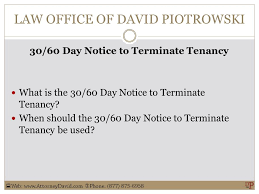 california 30 60 day notice to terminate tenancy sample