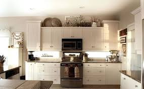 ideas for decorating kitchen decorate tops of kitchen cabinets ilearnlinux com