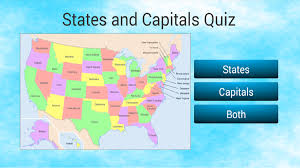 States And Capitals Map Quiz by U S States And Capitals Quiz Android Apps On Google Play