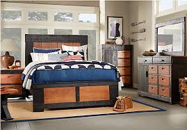 rooms to go bedroom sets sale shop for a pine mountain black 5 pc queen bedroom at rooms to go