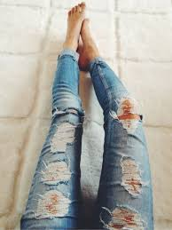 Skinny Jeans With Holes Best 25 Jeans Ideas On Pinterest Cute Jeans Lace Jeans And