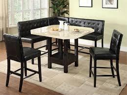 bar height kitchen sets corner bench and table set corner bench