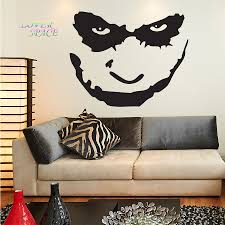 compare prices on batman wall murals online shopping buy low batman the joker face wall decal sticker art vinyl mural home decor wall stickers for kids