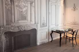 Trompe L Oeil Wallpaper by La Maison Champs Elysees Paris Hotel Martin Margiela