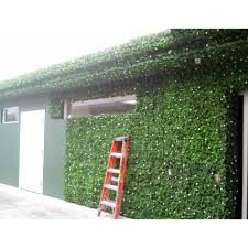 Fake Shrubs Ez Ivy 10 Ft Wide X 3 5 Ft Tall Dramatic Danica Double Sided Ivy