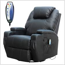 Black Leather Recliner Chair Black Leather Massage Recliner Chair Chair Home Furniture