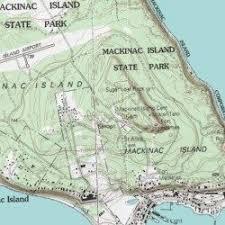 map of mackinac island mackinac island cemetery mackinac county michigan cemetery