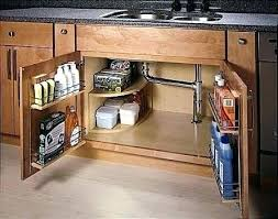 under kitchen sink storage ideas under kitchen sink organizer proportionfit info