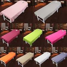 massage table with hole simple beauty massage spa treatment bed table cover sheets with face