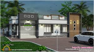nice single floor contemporary home kerala home design and floor