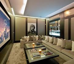 Best  Home Theater Seating Ideas That You Will Like On - Living room with home theater design