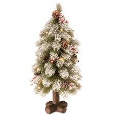 mr christmas 7 in christmas porcelain nostalgic tree in white