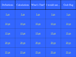 blank jeopardy powerpoint template gallery templates example