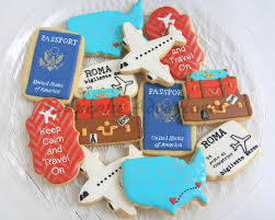 274 best travel state themed cookies images on pinterest iced