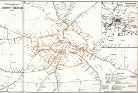 Map Of Berlin Germany by Historical Maps Berlin S And U Bahn Maps Transit Maps