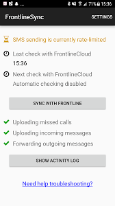 sms sending limits with frontlinesync and android u2013 frontline support