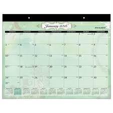 at a glance desk calendar pad calendars large poetica