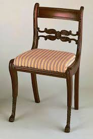 Duncan Phyfe Rose Back Chairs by American Antique Furniture Styles Who Do They Really Belong To