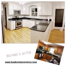 kitchen cabinet refinishing contractors hawksview services kitchen refinishing cabinet painting