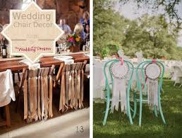 chair ribbons 58 best chair backs weddings images on chair backs