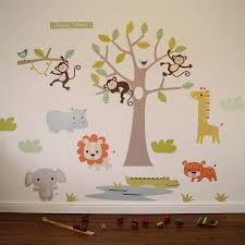 100 notonthehighstreet wall stickers world map wall notonthehighstreet wall stickers pastel jungle safari wall stickers by parkins interiors