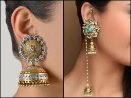 kerala style earrings shopzters 9 jhumka types that add sparkle to your wedding day