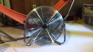 20 high velocity floor fan 20 hton bay high velocity fan youtube