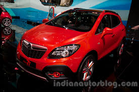 opel mokka interior opel mokka 77 moscow edition front three quarter at the 2014
