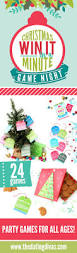 Christmas Party Minute To Win It Games Win It In A Minute Christmas Games The Dating Divas