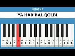 Ya Habibal Qolbi Pianika Ya Habibal Qolbi