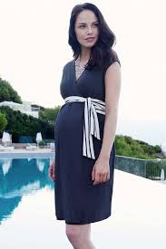maternity wear seraphine nautical tie wrap maternity dress maternity