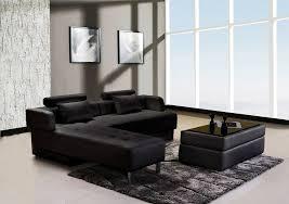 canape d angle en cuir canapé d angle cuir noir réversible et convertible largo