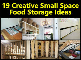 creative storage ideas for small kitchens 19 creative small space food storage ideas home ideas
