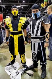 Scorpion Costume Scorpion And Sub Zero Kosplay By 2ndcitycrusader On Deviantart
