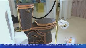 100k louis vuitton golden toilet goes on sale severehd com we