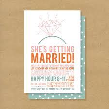 wedding shower invitation template bridal shower invitation printable diamonds 16 00 via etsy