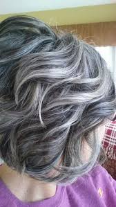 grey hair highlights and lowlights stylish short haircuts for curly wavy hair stylish short