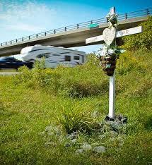 roadside memorial crosses roadside memorials hawkeye digital marketing business
