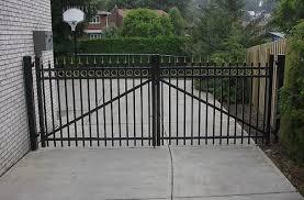 allegheny fence ornamental aluminum brilliant driveway gates 12