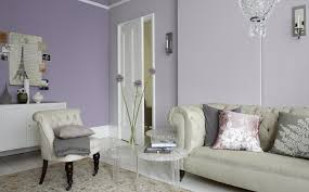 a living room in lilac and lavender dulux