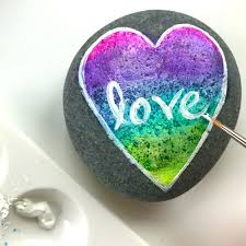 free kindness rock painting at michaels craft stores u2022 color made