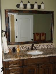 large framed bathroom mirrors mirror frames for existing lowe u0027s